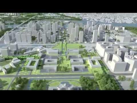 Urban planning animation