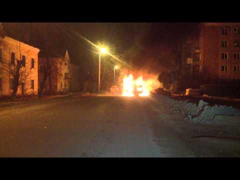 сгорел автобус г Иваново