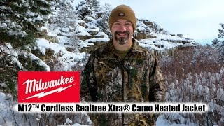 Milwaukee M12™ Cordless Realtree Camo Heated Hunting Jacket
