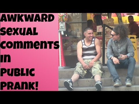 Awkward Sexual Comments In Public Prank