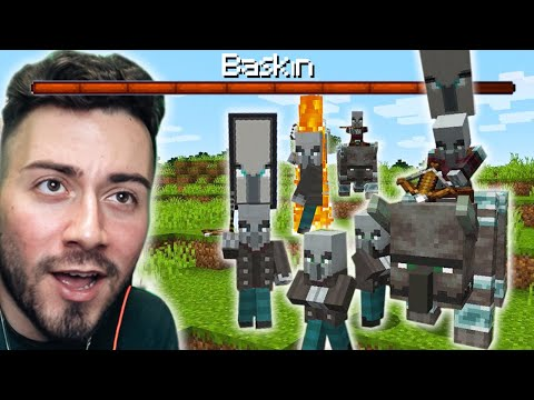 BASKIN YEDİM SALDIRDILAR ! (Yıl 2013)  Minecraft  - Part 4