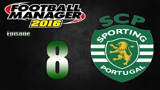 Football Manager 2016 | Sporting CP | Part 8 | The Mighty Valencia!