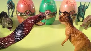 Dinosaurs Toys Eggs Jurassic Egg Surprise Dino Puzzle Unboxing
