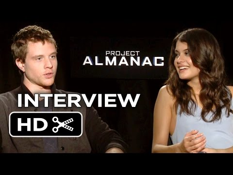 Project Almanac   Jonny Weston and Sofia BlackD'Elia 2015  SciFi HD