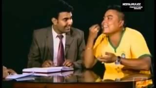 Nepali comedy interview with ronaldo.