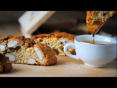 Бискотти [ Кантуччи ] простой рецепт Итальянского печенья с миндалём 🌟👌