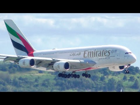 10 BIG PLANES Landing From UP CLOSE | Boston Airport Plane S