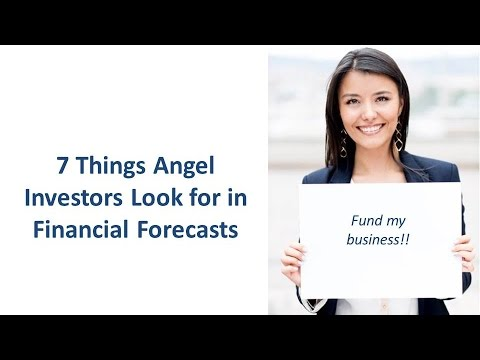 Business Plan Tip: 7 Things Investors Look For In Financial Projections