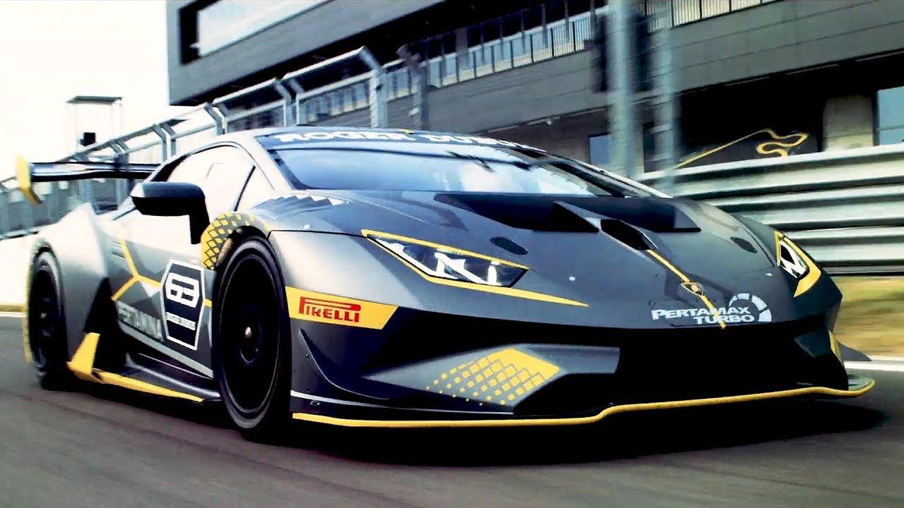2018 Lamborghini Huracan Super Trofeo Evo Youtube