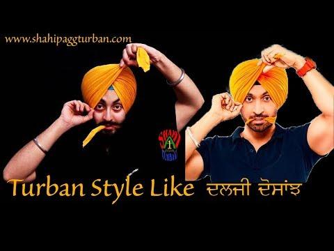 Diljit Dosanjh | Turban Style | Wattan wali | Patiala Shahi Pagg | 5 layers