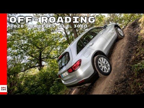 2020 Mercedes GLC 300d Off-Roading