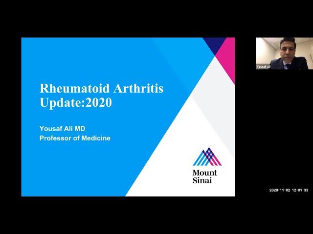 Rheumatoid Arthritis Update: 2020