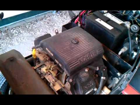 Kohler Command Motor 20 hp CH20S Sunstar - YouTube