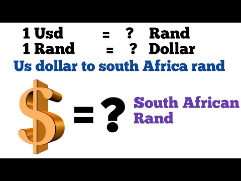 Usd To Rand | Dollar To Rand |usd To Zar | Rand To Dollar | Usd Zar Exchange Rate Today