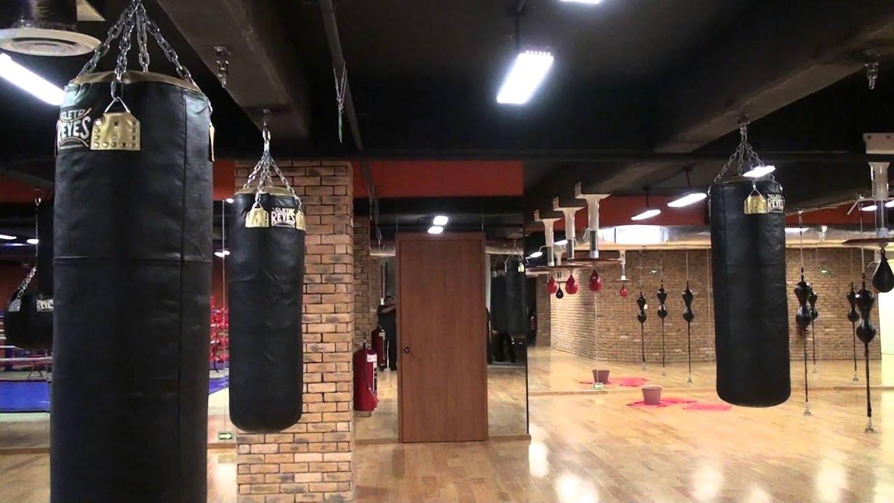 fernando espino presenta gimnasio de boxeo equipo