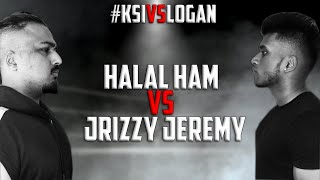 Halal Ham VS. Jrizzy Jeremy - FULL FIGHT #KSIvsLogan