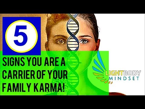 5 SIGNS YOU ARE THE CARRIER OF YOUR FAMILY KARMA!!