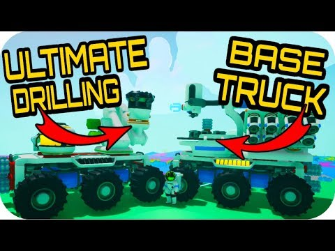 ULTIMATE DRILLING BASE ON A TRUCK!!! 🚀BASE BUILDING UPDATE 0.6.5.0 🚀Astroneer Update 0.6.5.0