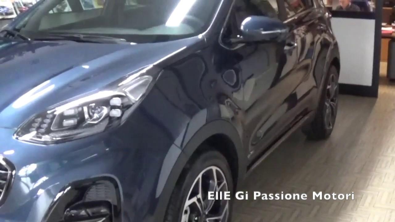 Kia Sportage 2019 Gt Line Awd Hybrid Esterno Interno Youtube