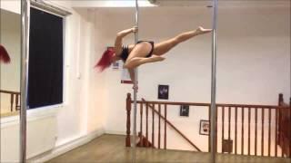 Jess Leanne Norris - POLE TRICKS 2014!!!