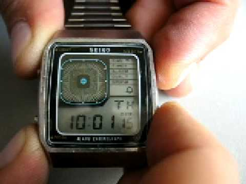 SEIKO G757 VINTAGE DIGITAL WATCH JAMES BOND LCD 70'S IN BOX