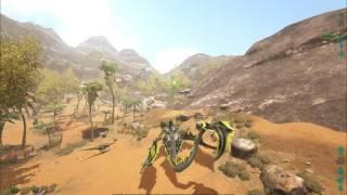 ARK Survival Evolved (Scorched Earth) - Видео с опережением звука(Смотреть не рекомендуется=)