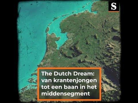 The Dutch Dream: van krantenjongen tot een baan in het middensegment