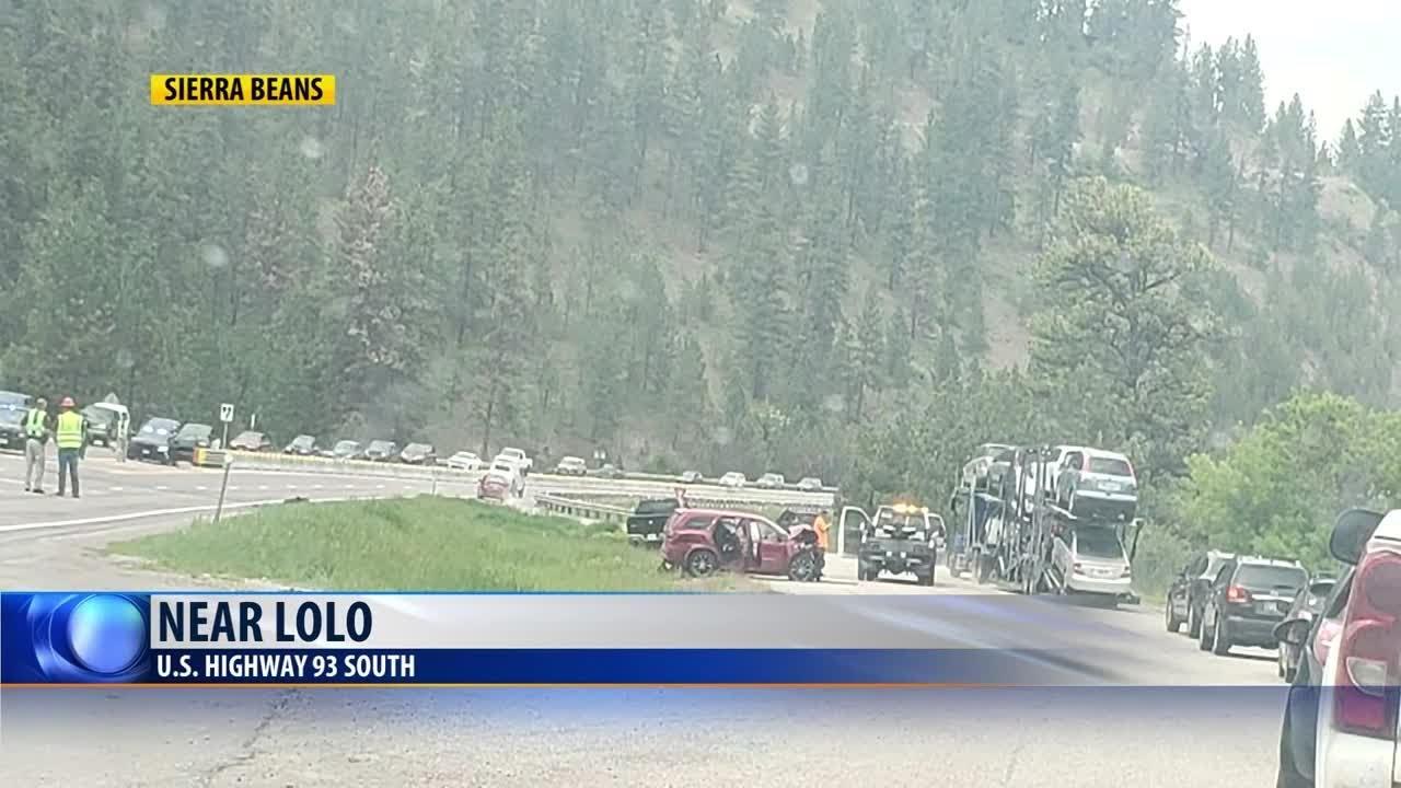 Elderly woman killed in Highway 93 crash near Lolo
