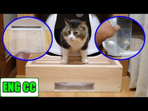 handmade-offertory-box-to-prevent-scattering-of-cat-sand!-that-may-make-cleaning-easier!?【eng-cc】