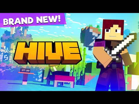 Hive Games OUT NOW! - Launch Trailer (Minecraft Animation)