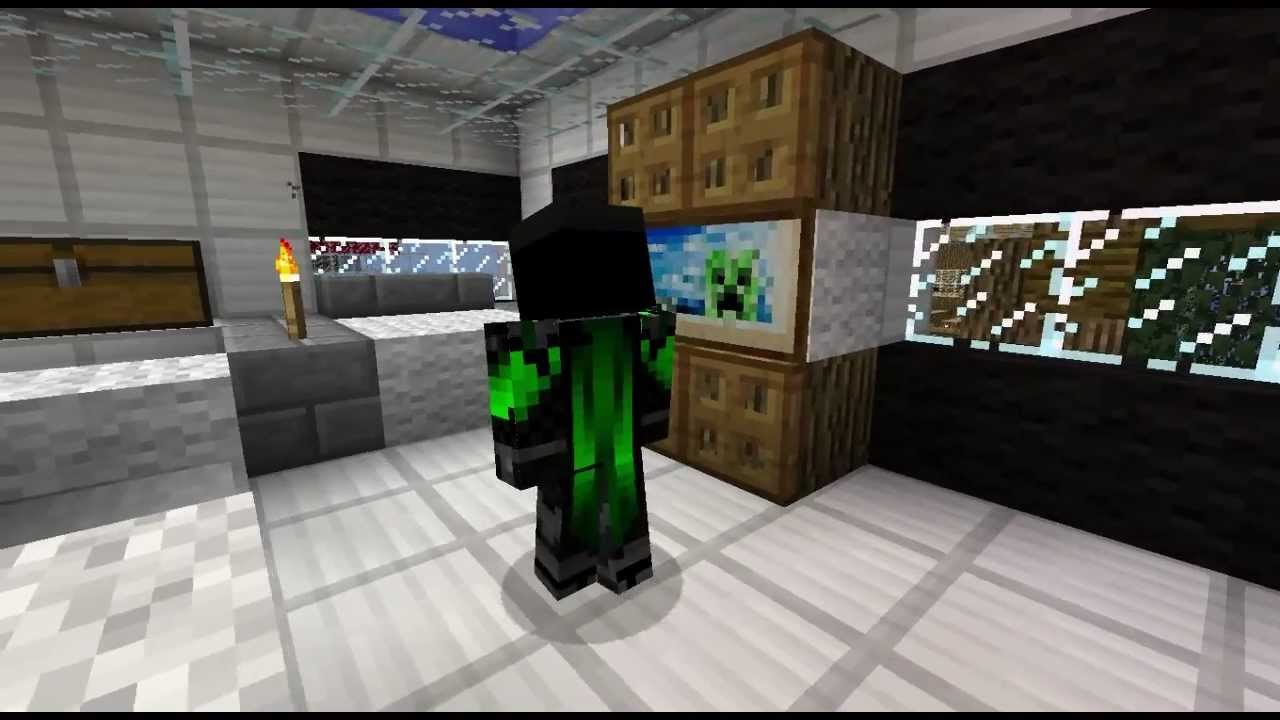 Minecraft Casa De Dise O Design House Youtube