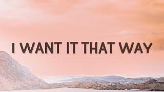 Backstreet Boys - I Want It That Way (Music Travel Love, Francis Greg Cover) (Lyrics)