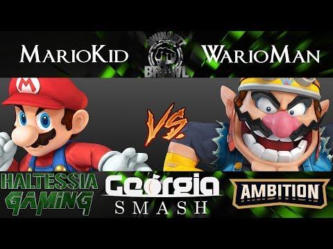Gwinnett Brawl 48 Smash 4 Singles AE | MarioKid (Mario) vs Micaelis (Wario)