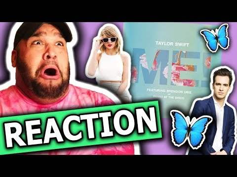 Taylor Swift - ME feat Brendon Urie of Panic At The Disco REACTION