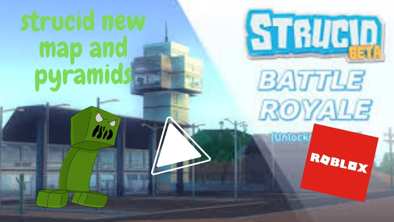Strucid New Map! and pyramids! - YouTube