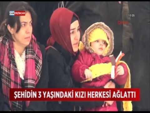 3 Yaşındaki şehit Kızının Feryadı Yürekleri Dağladı