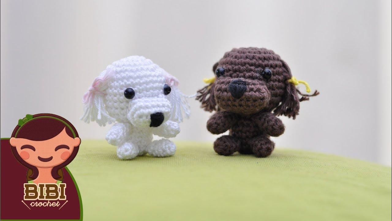 Amigurumi   Como hacer un perro puddle en Crochet   Bibi Crochet ...
