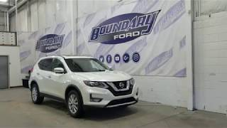 Pre-owned 2017 Nissan Rogue SV W/ 2.5L, Cloth Overview | Boundary Ford