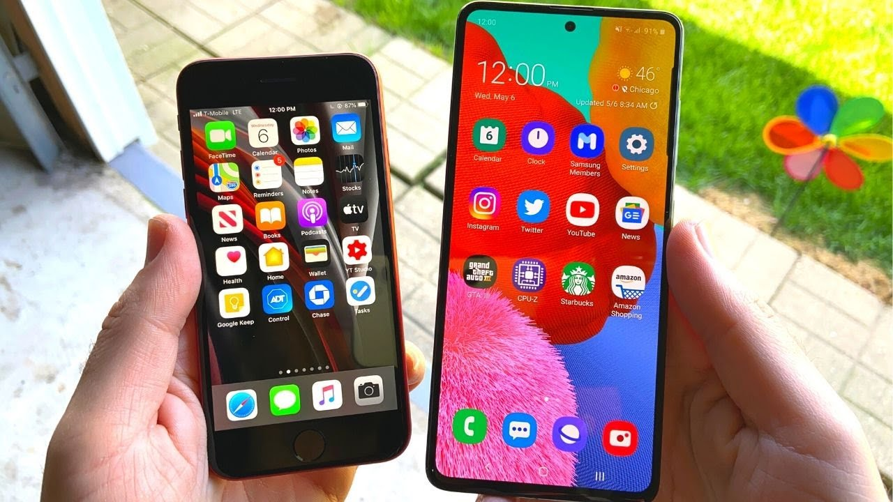 iPhone SE 2020 vs Samsung Galaxy A51