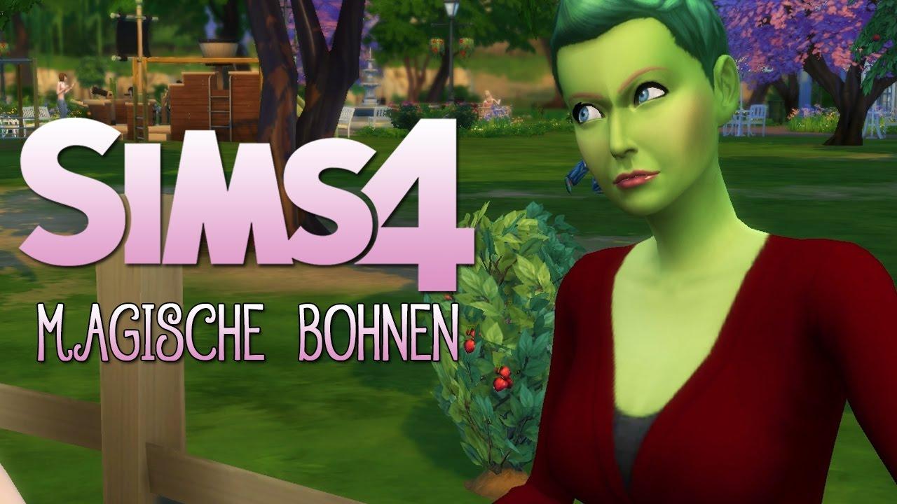 DIE SIMS 4 • #107 - Magische Bohnen | Lets Play - YouTube