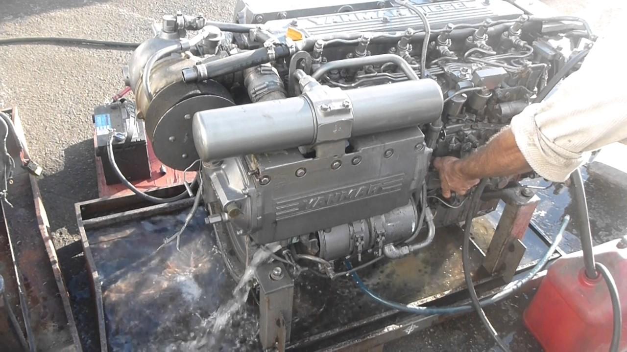yanmar 6ly2 440hp complete marine diesel engine youtube rh youtube com