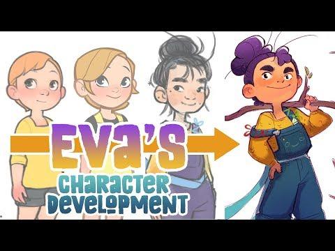 Eva's Character Development ( character design advice)