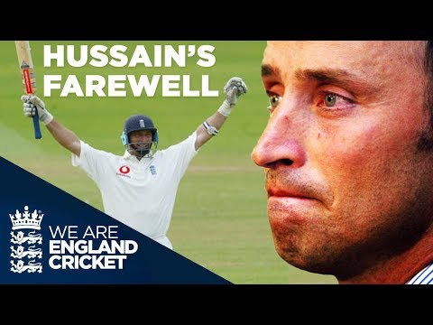 Nasser Hussain Hits Winning Hundred In Final Ever Innings For England: Lord's 2004 - Highlights
