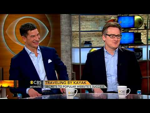 Kayak.com CEOs talk online travel sites