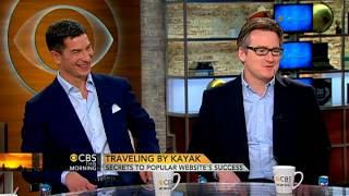 Kayak.com CEOs talk online travel sites