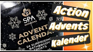 ACTION Adventskalender 2018 Beauty Spa Weihnachtskalender Advent Calendar
