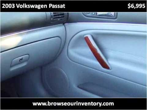 2003 Volkswagen Passat available from Bradley Cree...