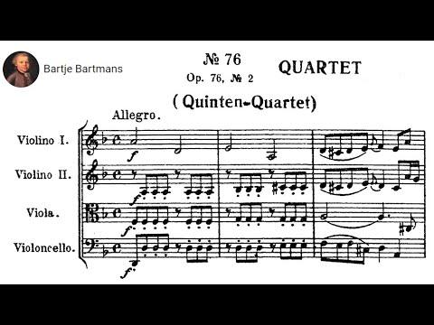 Joseph Haydn - String Quartet Op. 76, No. 2  'Quinten'