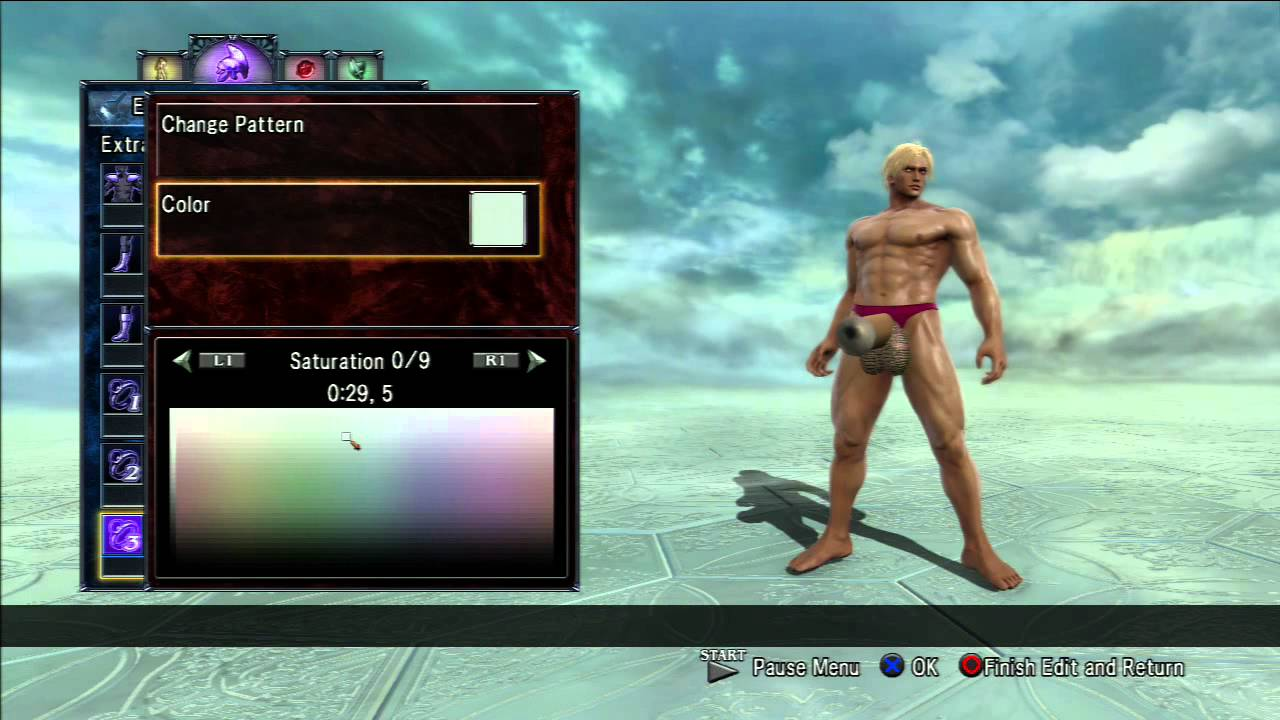 Soul calibur men naked