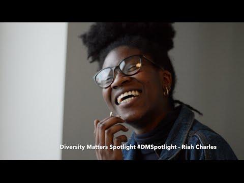 "Diversity Matters Spotlight: Riah Charles on ""Majority : Minority"" campaign"